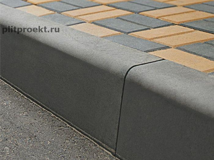 Как купить бордюрный камень 1000х300х150 Плит Проект в Одинцово