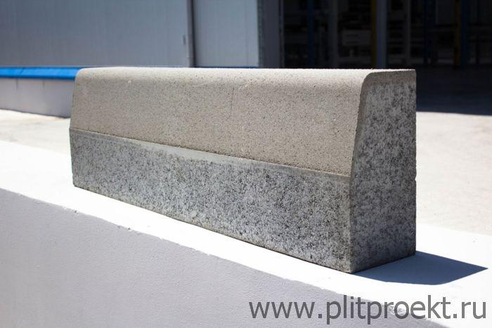 Бордюрный камень 500х200х80 в Одинцово