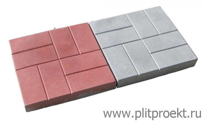 Преимущества, вес и другие характеристики тротуарной плитки 400х400х50 в Одинцово
