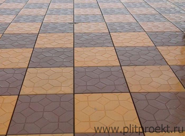Цена тротуарной плитки 500х500х50 в Туле