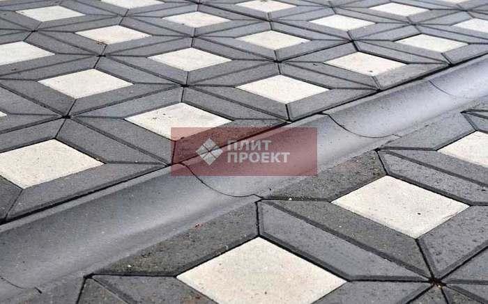 Почему водосток для тротуарной плитки важен в мощении